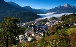 Berchtesgaden von oben, Vorschaubild