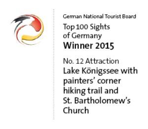 Top 100 Sights Königssee und St. Bartholomä