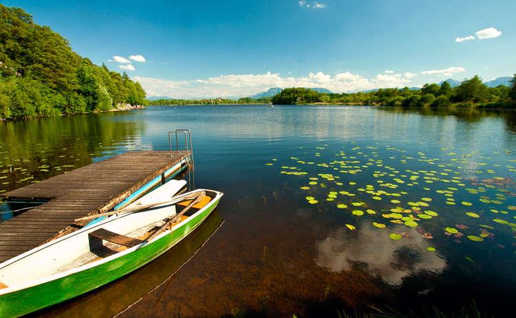 Abts See Boot 0001 1 D Roha Abstdorfer See Steg Fischer Boot Wasser Ufer Steg Kopie