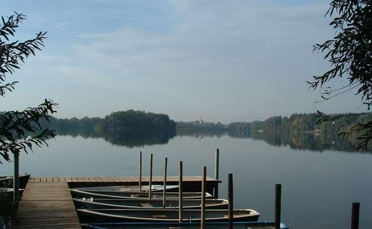 Abtsdorfer See bei Laufen