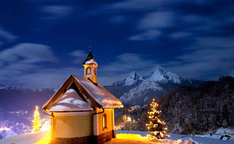 Advent Weinfeldkapelle Berchtesgaden