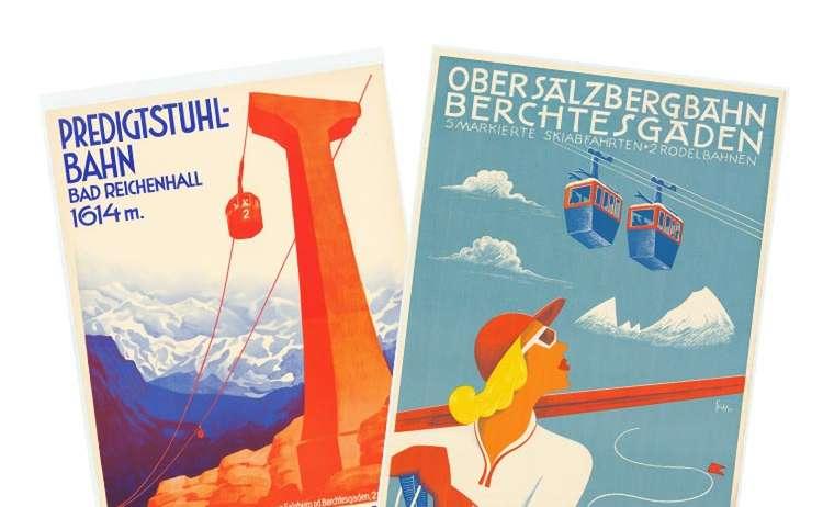 Alte Plakate Teaser