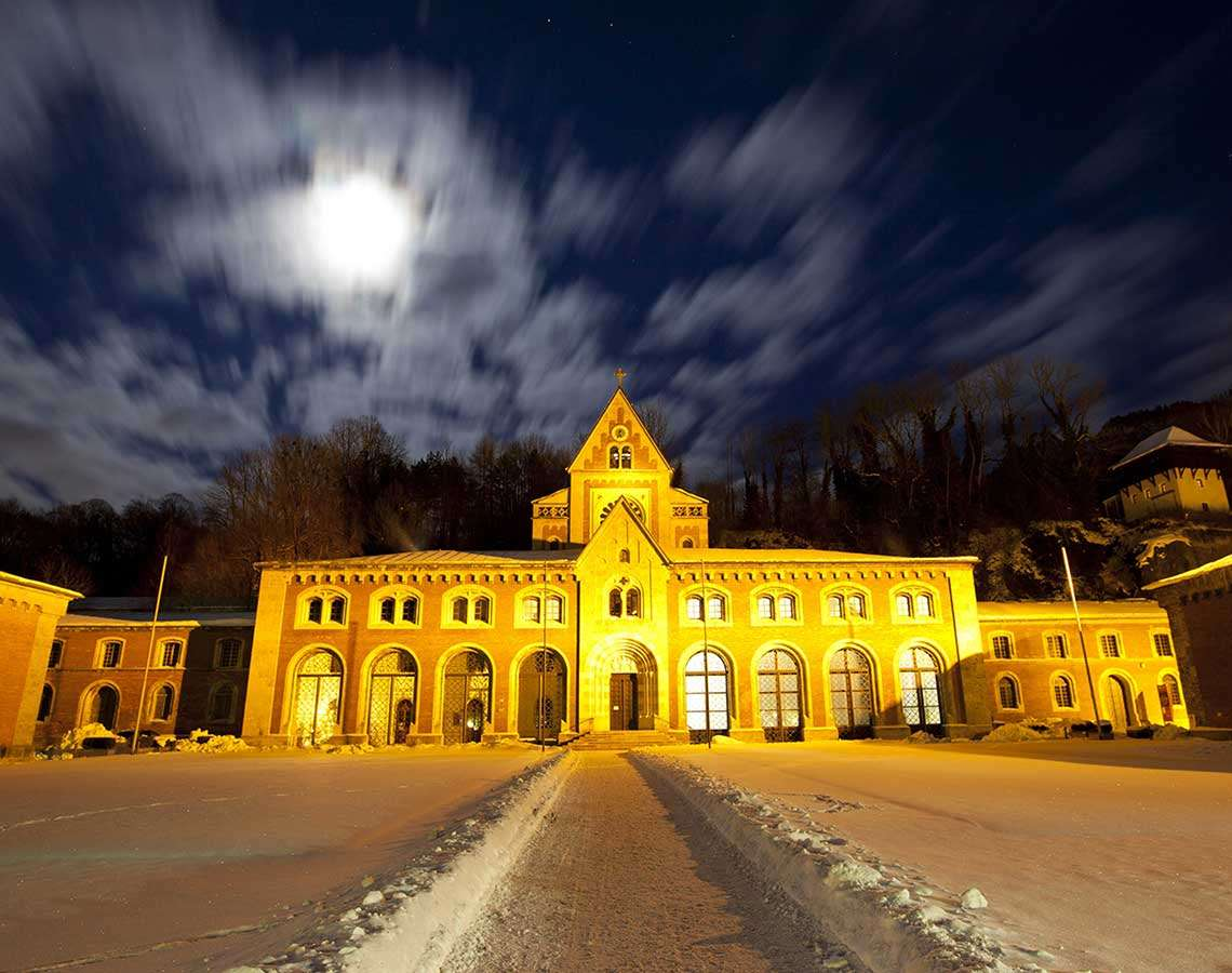 Alte Saline Bad Reichenhall Winter