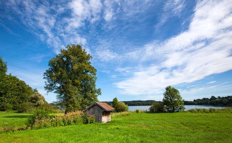 Badesee In Bayern Abtsdorfer See