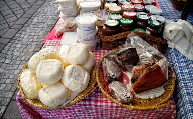 Bauernmarkt Berchtesgaden Wochenmarkt