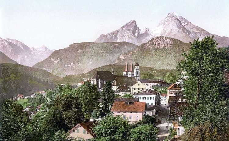 Berchtesgaden Watzmann Um 1900 Gemeinfrei Web