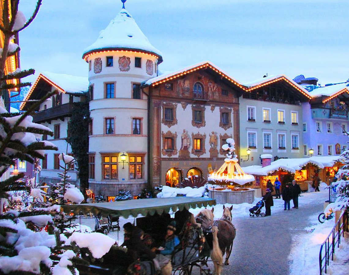 Berchtesgadener Advent Marktplatz 1