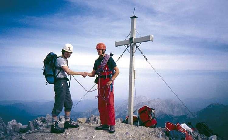 Bergsteiger Damals Watzmann Suedspitze 1