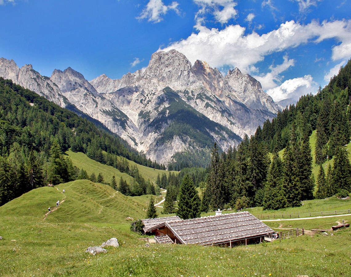 Bindalm Bayern Nationalpark Berchtesgaden
