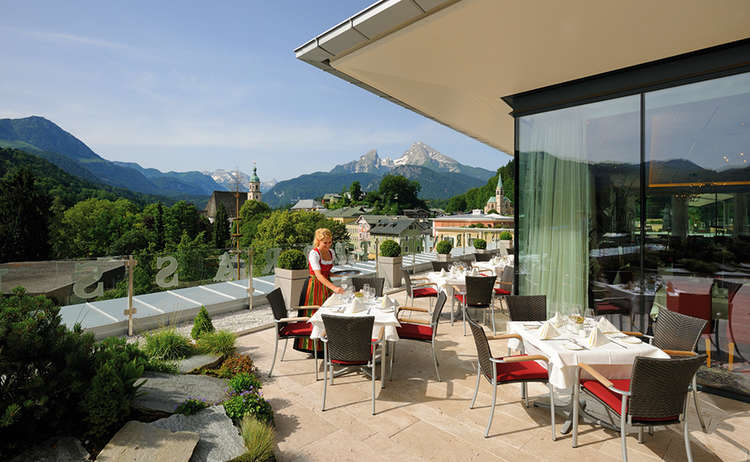 Edelweiss Berchtesgaden Dachterrasse 2
