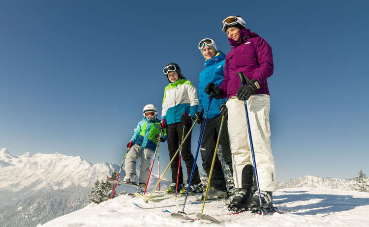 Familien Skigebiet Hochschwarzeck