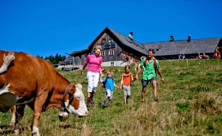 Familien Wanderung Stoisser Alm