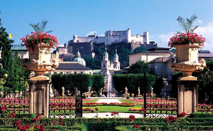 Festung Salzburg Mirabellgarten Tourismus Salzburg