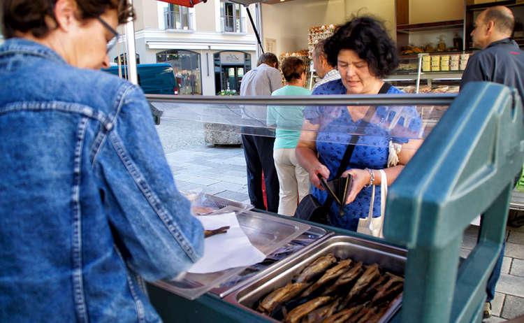 Fisch Berchtesgadener Wochenmarkt