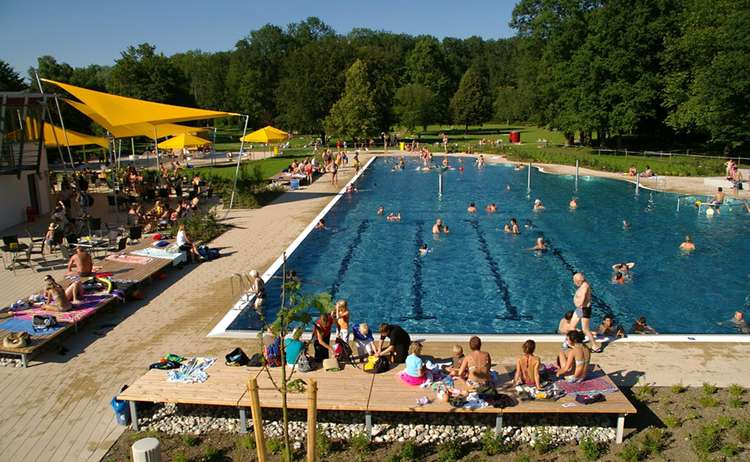 Freibad freilassing schwimmkurs