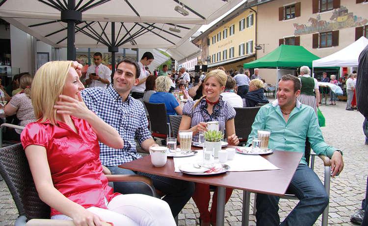 Fussgaengerzone Berchtesgaden
