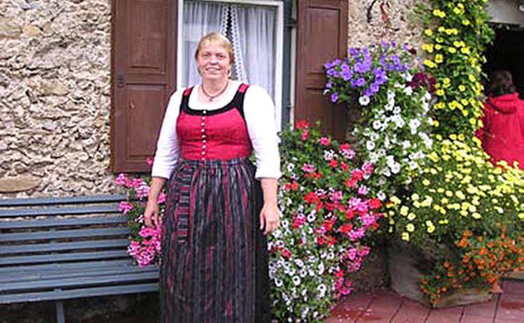 Gartenbaeuerin Christine Helminger