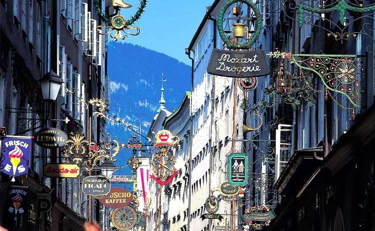 Getreidegasse Tourismus Salzburg