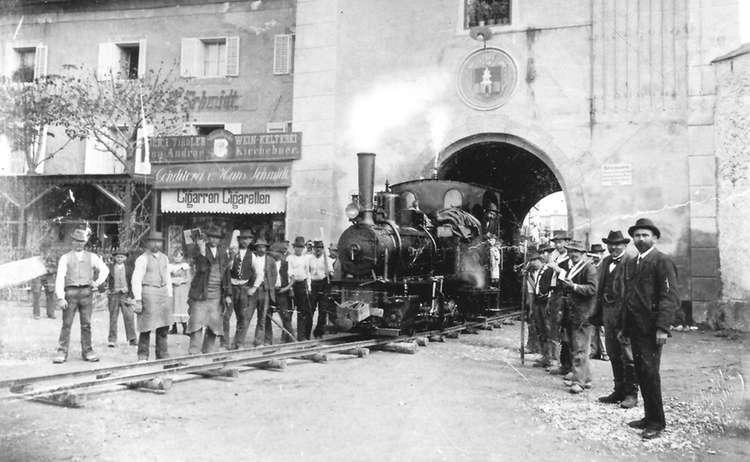 Historischesbild Stadtarchiv Laufen