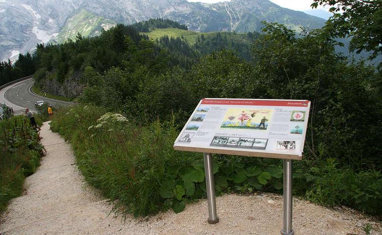 Info Board At Rossfeldjpg