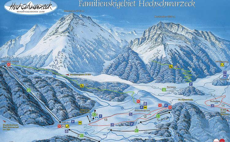 Karte Schwarzeck