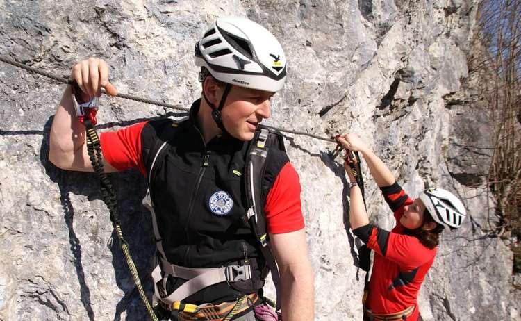 Klettersteigschule 1