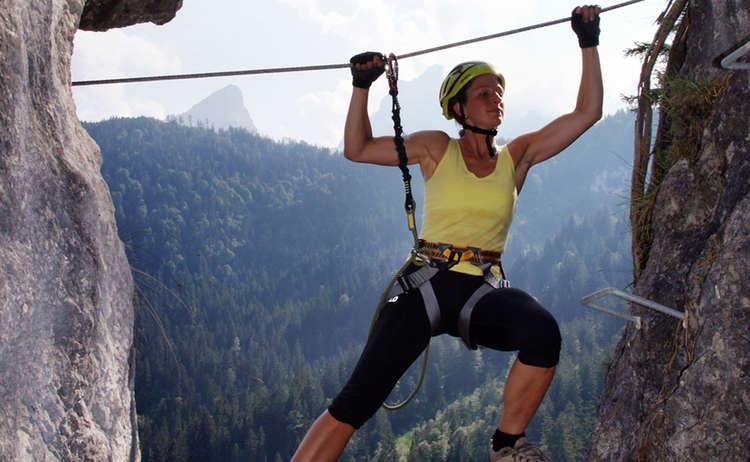Klettersteigschule