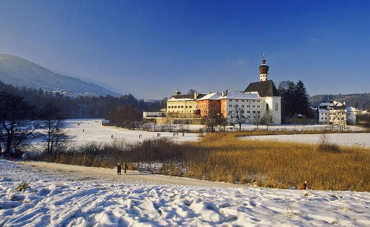 Kloster Hoeglwoerth Winter