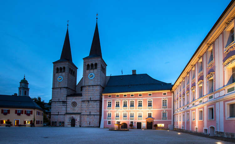 Koenigliches Schloss Berchtesgaden Bayern
