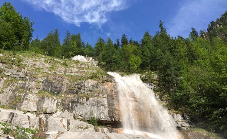 Koenigsbach Wasserfall 2