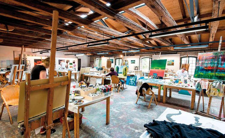 Kunstakademie Bad Reichenhall Bayern Alpenstadt