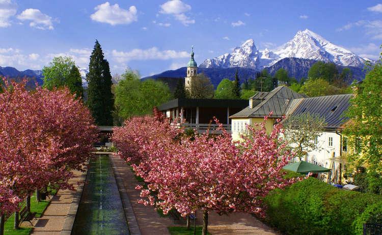 Kurgarten Berchtesgaden Mit Watzmann