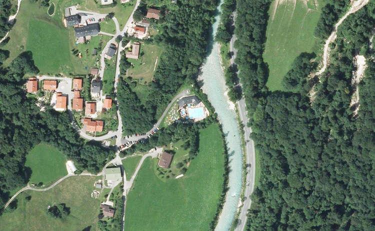 Luftaufnahme Schellenberger Freibad