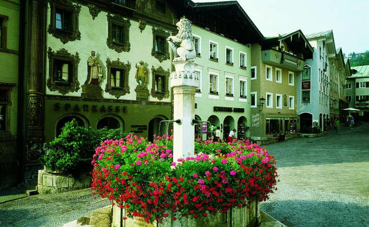 Brunnen im Markt Berchtesgaden