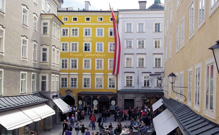 Mozart Geburtshaus Tourismus Salzburg