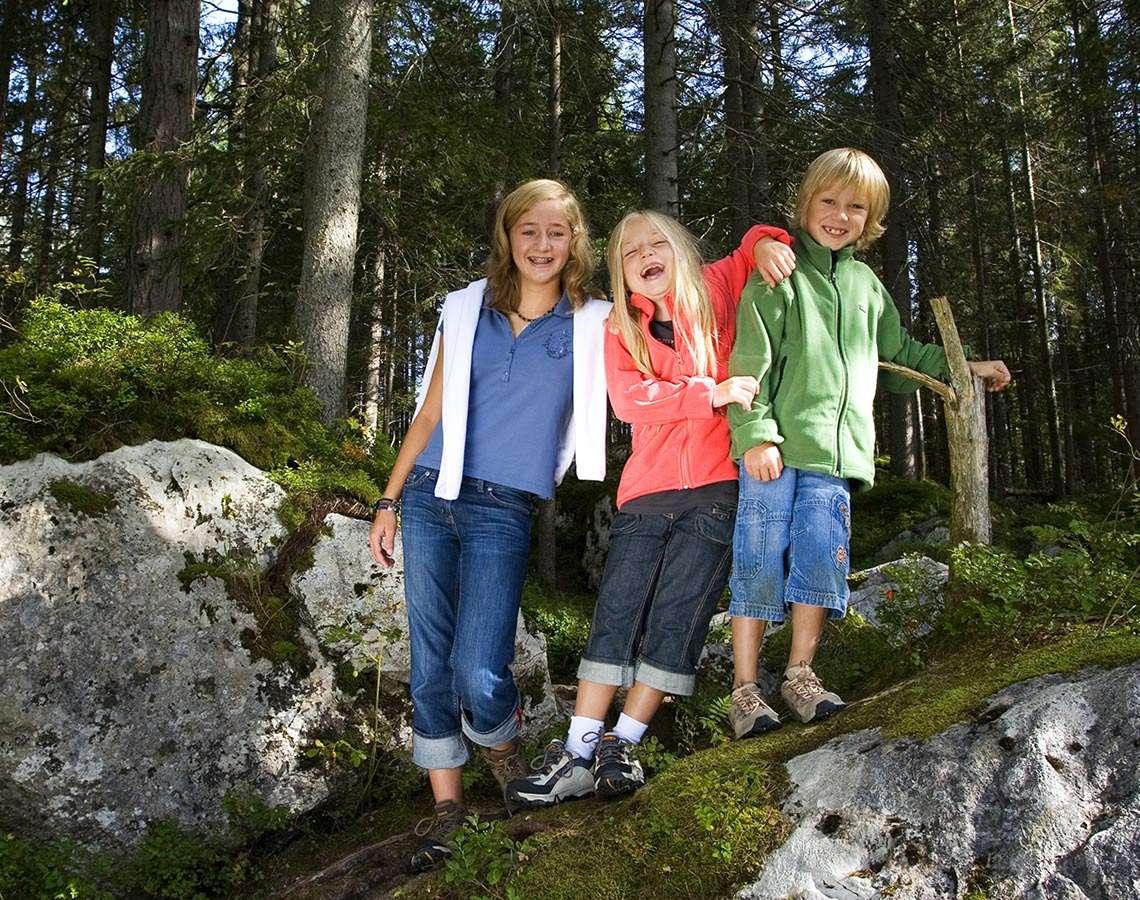 Nationalpark Familien