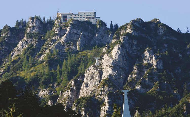 Die Predigtstuhlbahn  Alpenstadt Bad Reichenhall