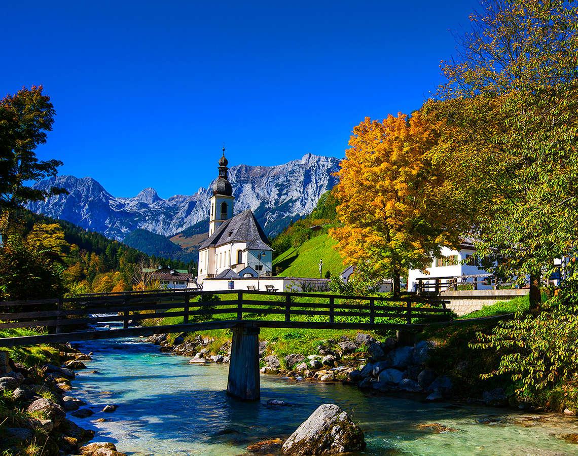 Ramsau Bayern Herbst