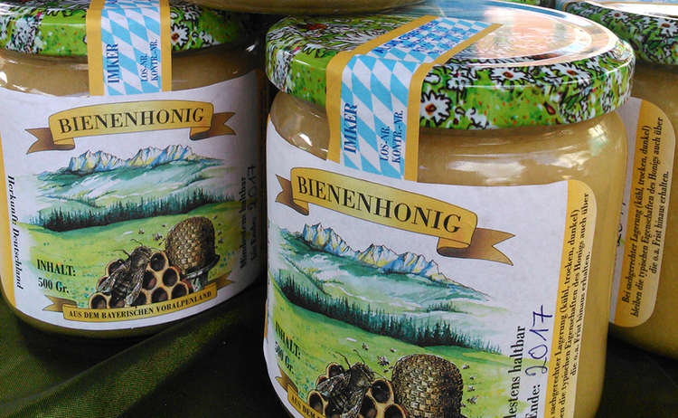 Regionaler Bienenhonig