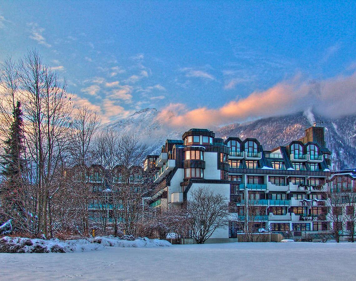Reichenhall Alpenstadt Hotel Winter