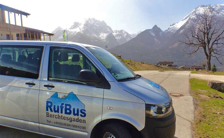 Rufbus Berchtesgaden Ramsau Hochschwarzeck