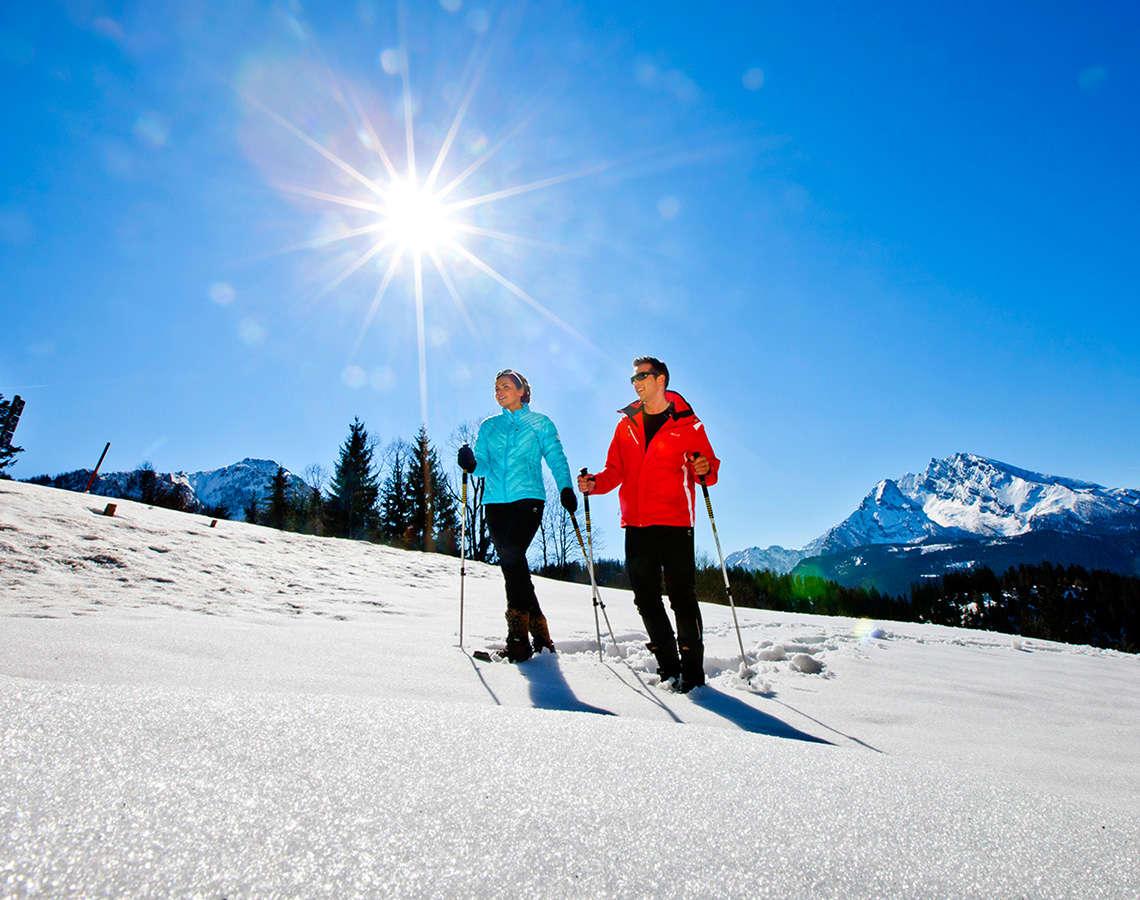 Schneeschuh Wandern Bayern