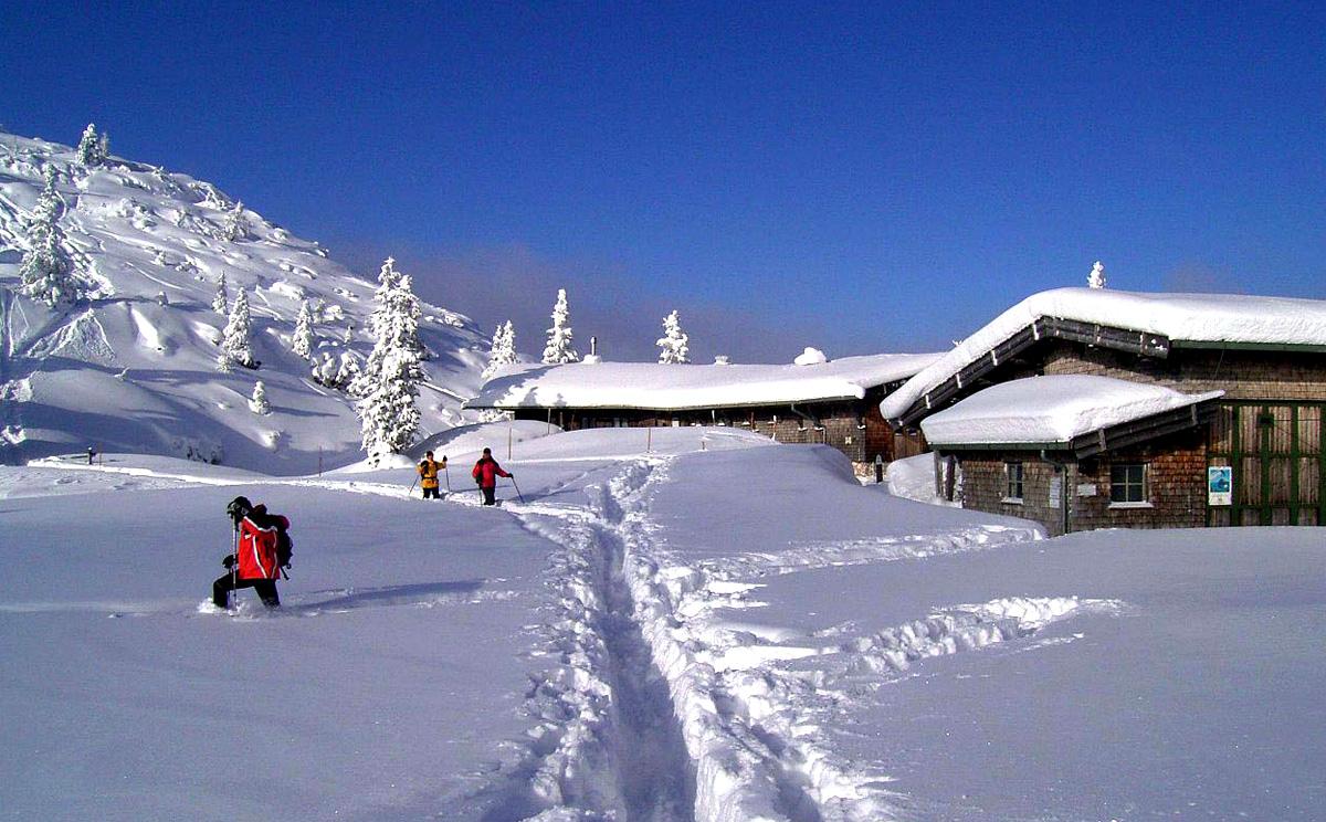 Schneeschuhwandern am Predigtstuhl