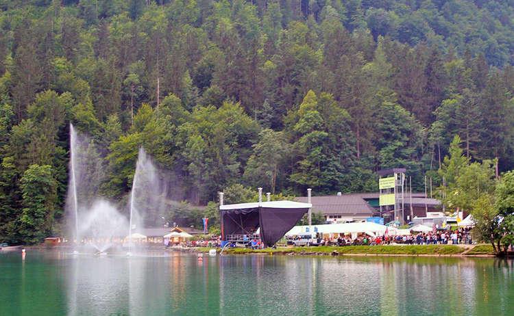 Seefest An Der Bobbahn Koenigssee