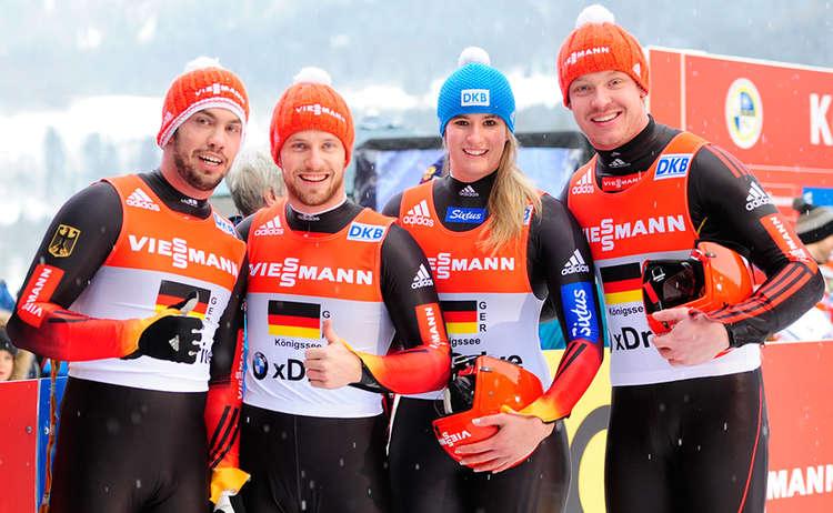 Sieger Team Staffel Koenigssee 2015