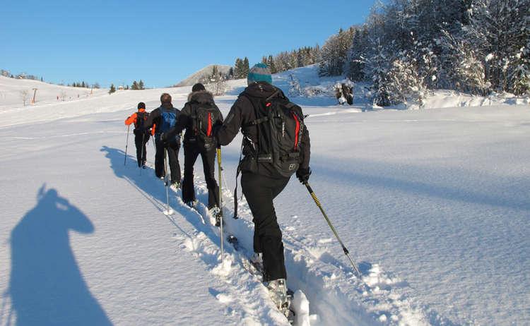Skibersteigen Lernen Im Skitourenpark