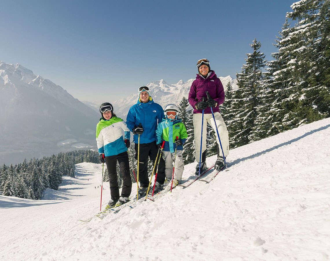 Skifahren Hochschwarzeck