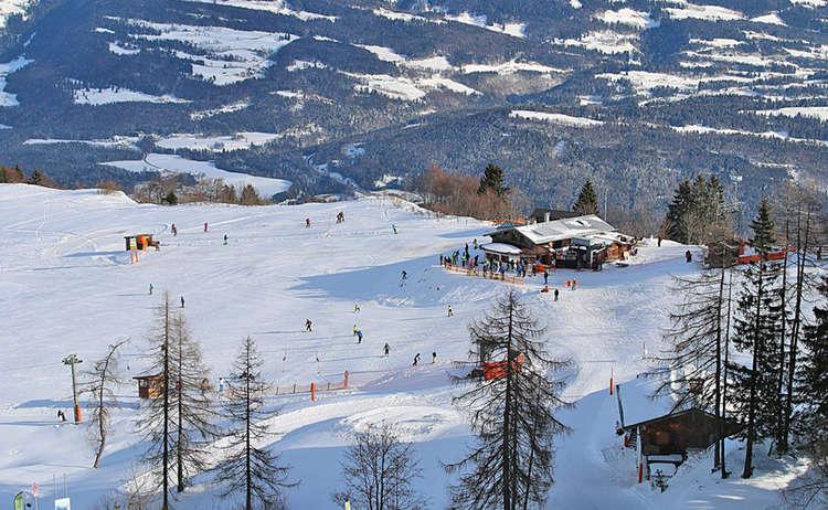 Skifahren Rossfeld Bayern Berchtesgaden