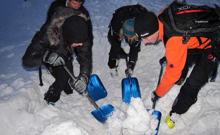 Skitourenpark Lawinenausbildung