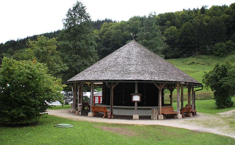 Solegradierwerk Im Bergkurgarten Ramsau